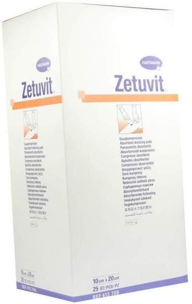 Zetuvit Saugkompresse steril 10 x 20 cm 25 Stück
