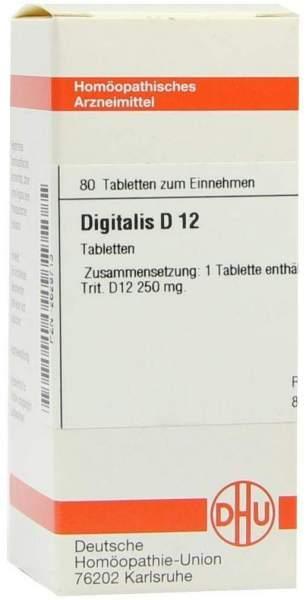 Digitalis D 12 Tabletten