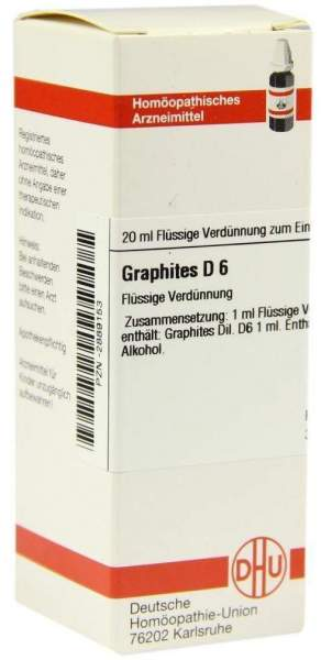 Dhu Graphites D6 20 ml Dilution