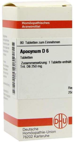 Apocynum D6 80 Tabletten