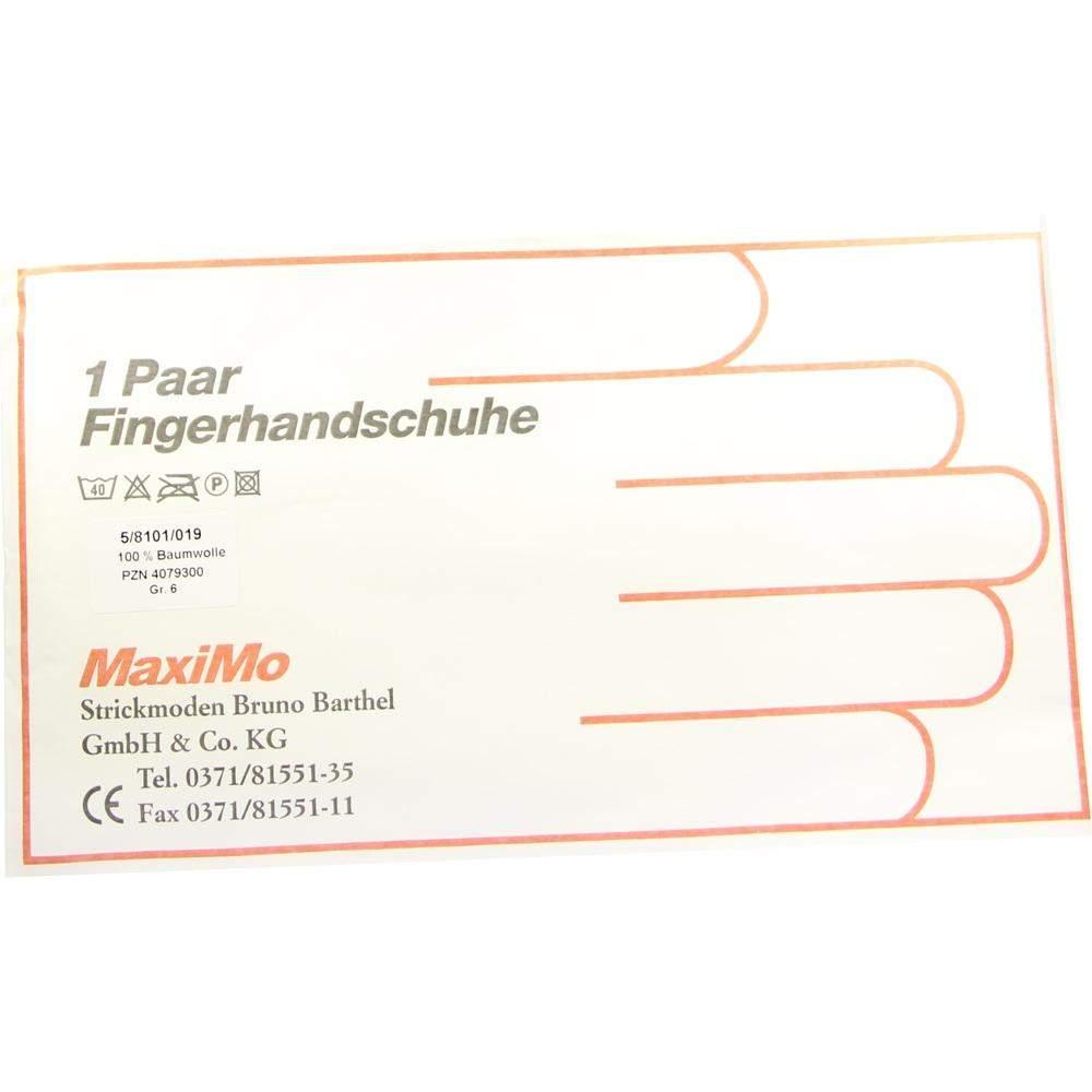 Strickmoden Bruno Barthel GmbH Handschuhe Baumwolle Gr. 6 Kinder - 2 Handschuhe