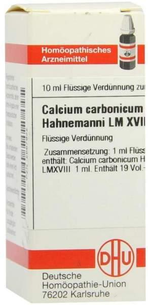 Dhu Calcium Carbonicum Hahnemanni Lm Xviii Dilution