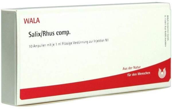Salix Rhus Comp. Ampullen
