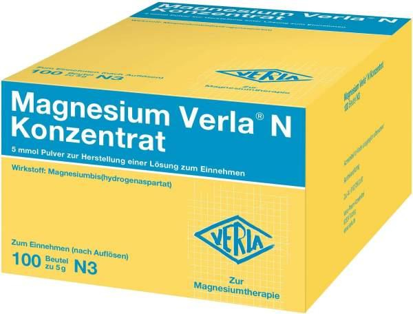 Magnesium Verla N Konzentrat 100 Pulver