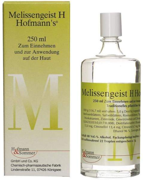 Melissengeist H Hofmanns Tropfen 250 ml Tropfen