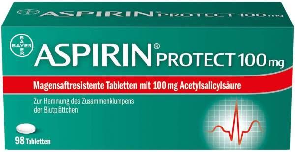 Aspirin Protect 100 mg 98 magensaftresistente Tabletten
