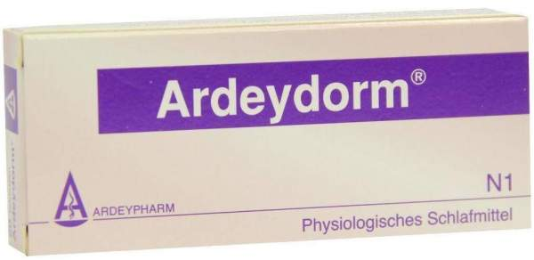 Ardeydorm 20 Tabletten