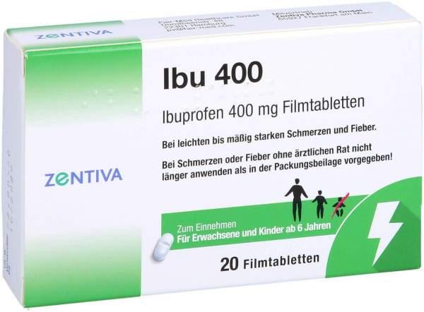 Ibu 400 mg 20 Tabletten