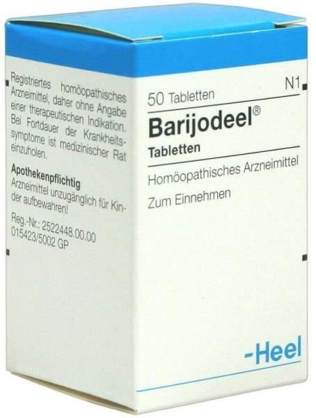 Barijodeel 50 Tabletten