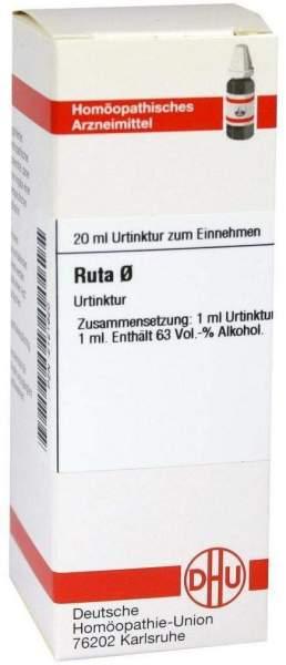 Ruta Urtinktur 20 ml Dilution