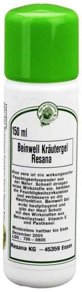 Beinwell Kräutergel Resana 150 ml Gel