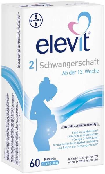 Elevit 2 Schwangerschaft 60 Kapseln