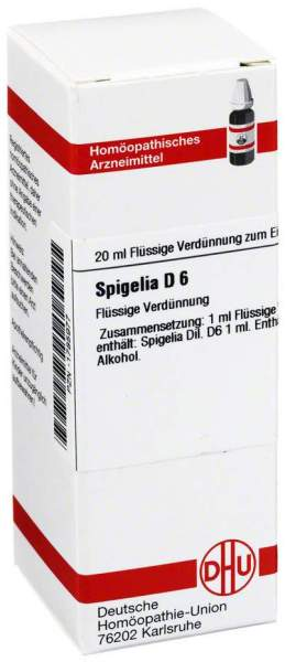Spigelia D 6 Dilution