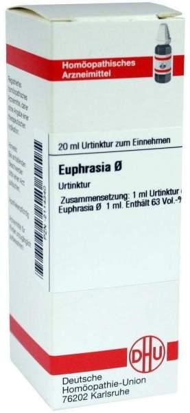 Euphrasia Urtinktur 20 ml Dilution