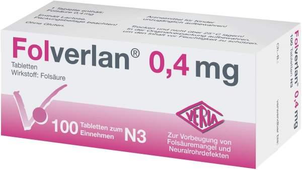 Folverlan 0,4 mg Tabletten 100 Tabletten