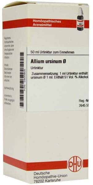 Allium Ursinum Urtinktur 50 ml Dilution