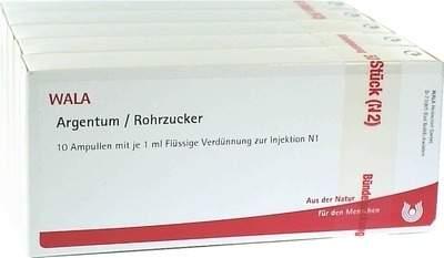 Argentum Rohrzucker Ampullen 50 X 1 ml