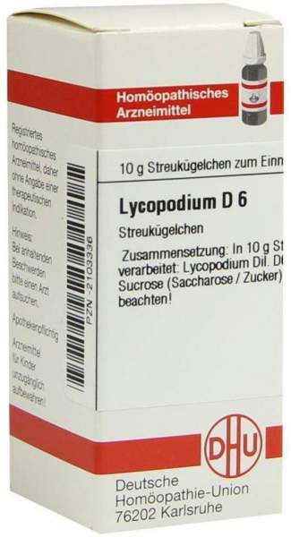 Lycopodium D6 Dhu 10 G Globuli