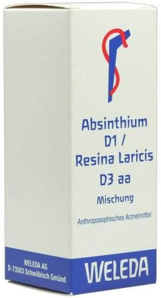 Absinthium D1 Resina Laricis D3 Aa Dilution 50 ml Dilution
