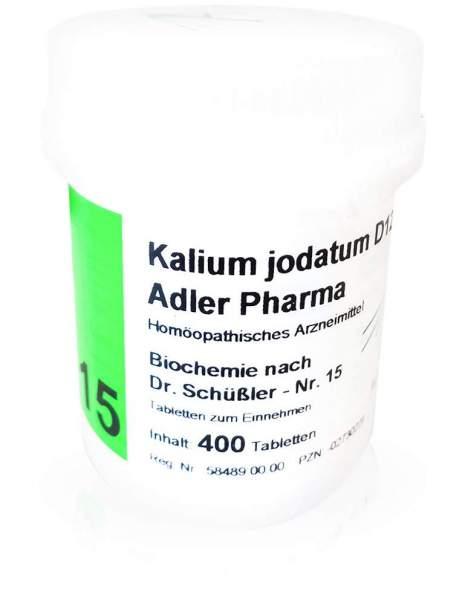 Biochemie Adler 15 Kalium Jodatum D 12 400 Tabletten