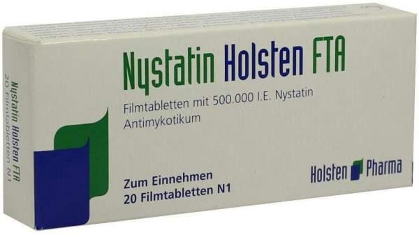 Nystatin Holsten Fta 20 Filmtabletten