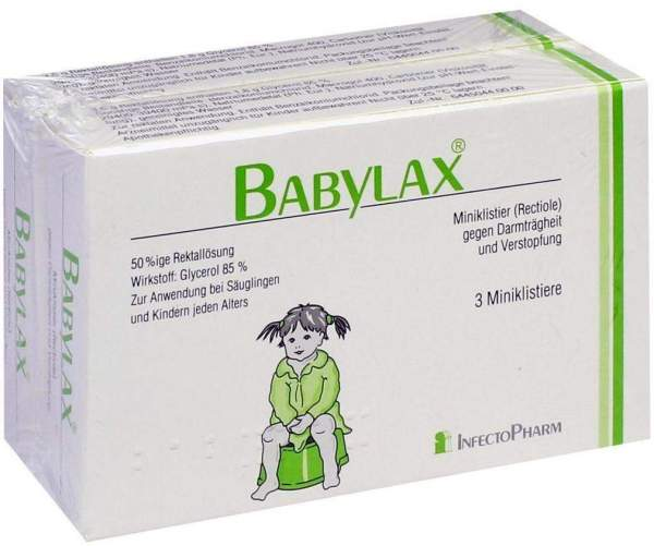 Babylax 6 Klistiere