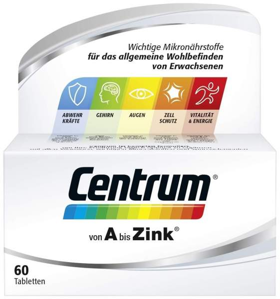 Centrum A - Zink 60 Tabletten