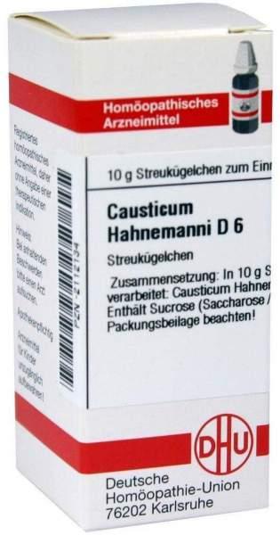 Causticum Hahnemanni D6 10 G Globuli