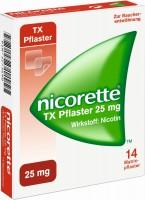 Nicorette TX Pflaster 25 mg 14 Pflaster