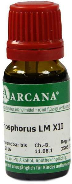 Phosphorus Lm 12 Dilution 10 ml