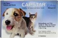 Capstar 11,4mg für Katzen und kleine Hund