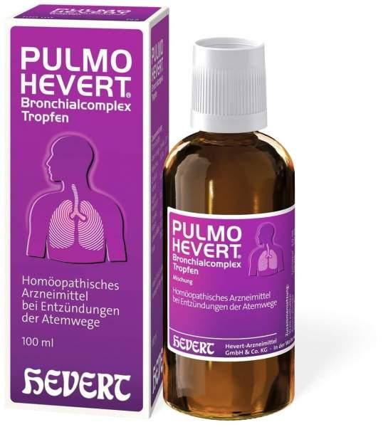 Pulmo Hevert Bronchialcomplex 100 ml Tropfen