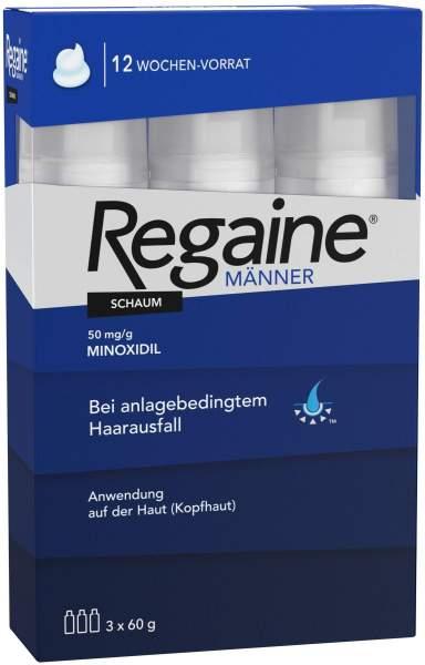 Regaine Männer Schaum 5% 3 x 60 ml