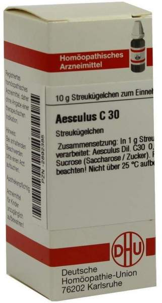 Aesculus C30 10 G Globuli