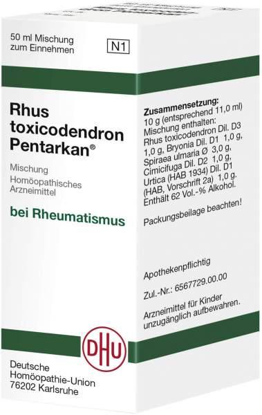 Rhus Toxicodendron Pentarkan 50 ml Liqiudum