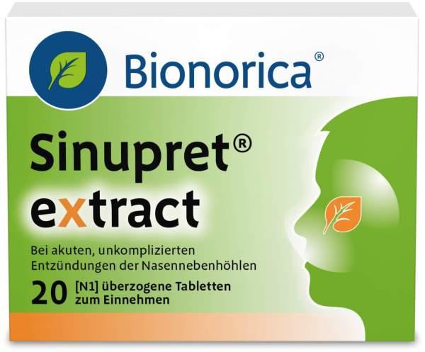 Sinupret extract 20 überzogene Tabletten