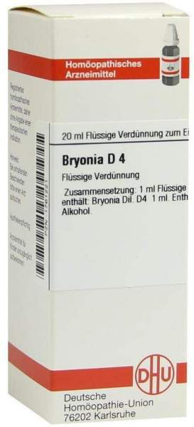 Bryonia D 4 20 ml Dilution