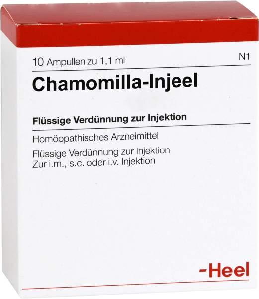 Chamomilla Injeele 1,1 ml