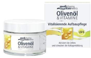 Olivenöl & Vitamine Vitalisierende Aufbaucreme 50 ml