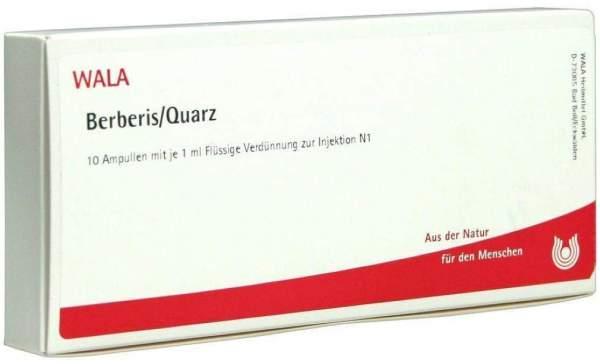 Berberis-Quarz Ampullen 10 X 1 ml