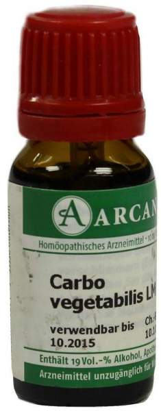 Carbo Vegetabilis Lm 6 Dilution 10 ml