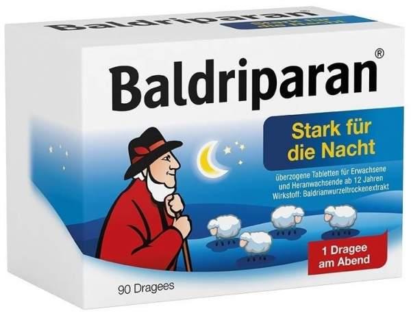 Baldriparan Stark für die Nacht 90 überzogene Tabletten