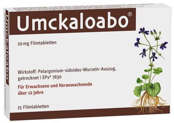 Umckaloabo 20 mg 15 Filmtabletten