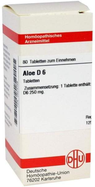 Aloe D 6 80 Tabletten