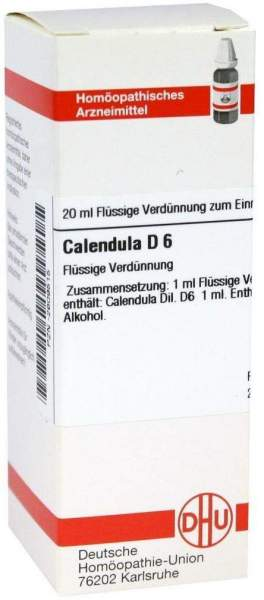 Calendula D 6 20 ml Dilution