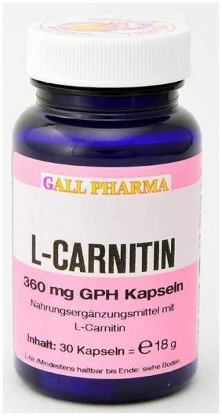 L Carnitin 360 mg 100 Kapseln