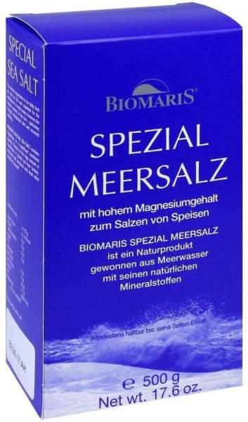 Biomaris Spezial Meersalz Küchensalz 500 G