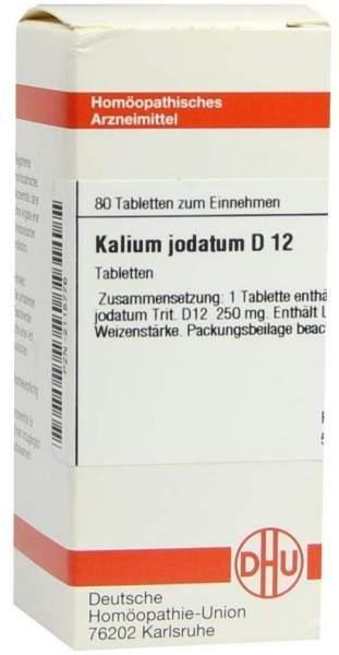 Kalium Jodatum D12 Dhu 80 Tabletten
