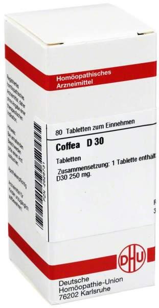 Coffea D30 80 Tabletten