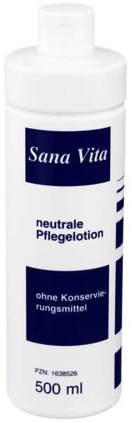 Sana Vita Neutrale Pflegelotion 500 ml Lotion